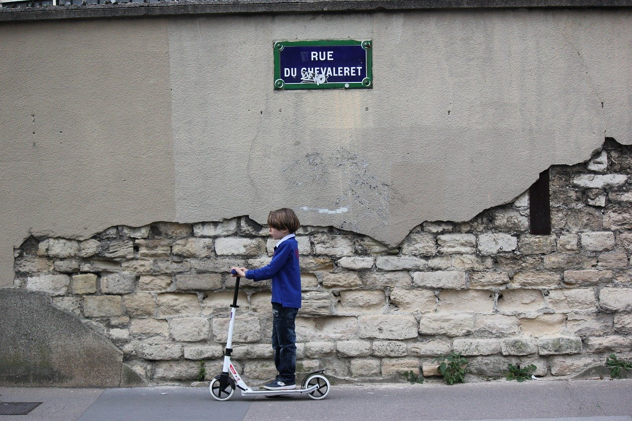 compartif trottinette enfant