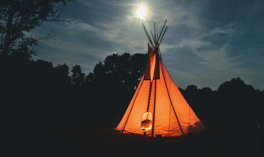 couteau de camping