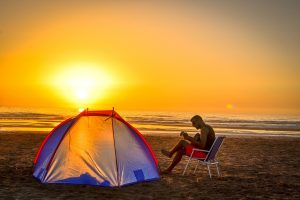 sac de couchage camping