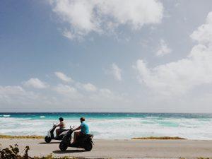 vélo de plage électrique