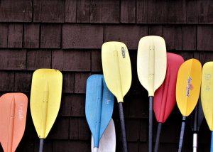 kayak de peche en mer