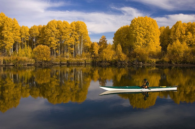 kayak pour le camping