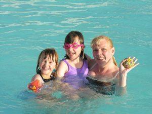 marque flotteur de piscine