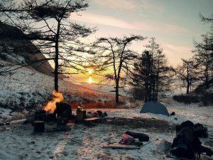 marque piquets de tente